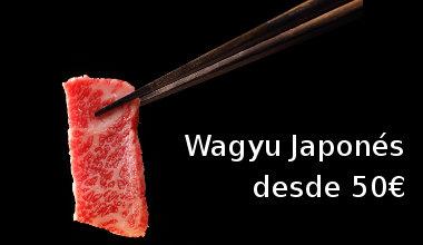 Wagyu japonés desde 54€